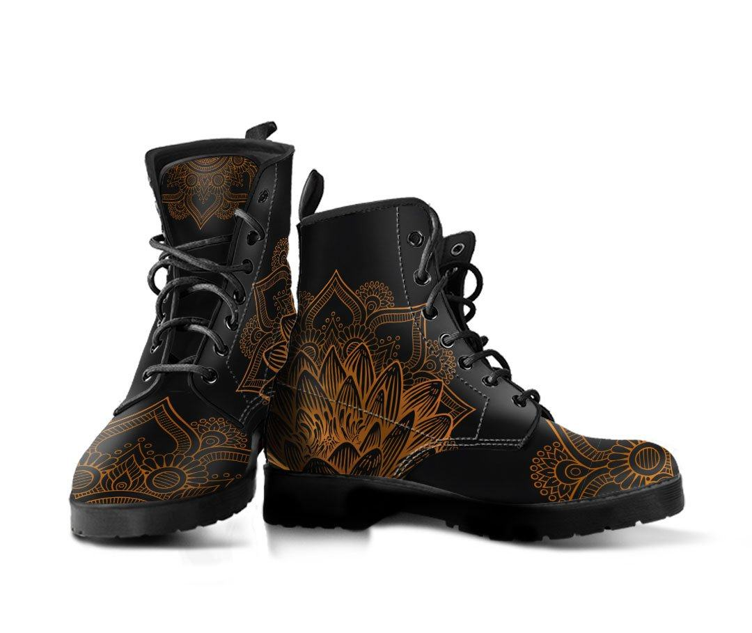 Boots - Golden Lotus Boots