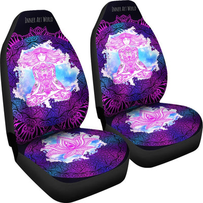 Car Seat Covers - Lotus Lady Car Seat Covers