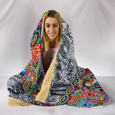 Hooded Blanket - Chaos Culture Jam