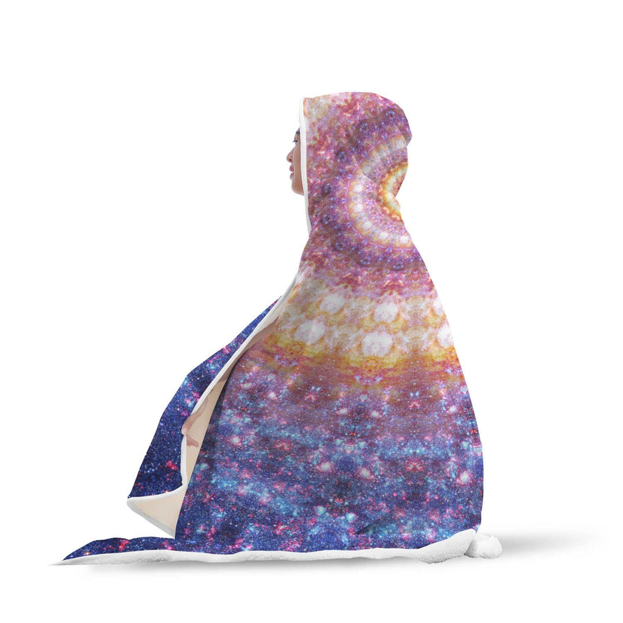 Hooded Blanket - Cosmic Hooded Blanket