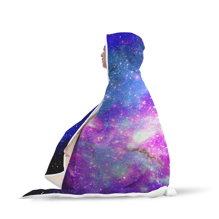 Galaxy Hooded Blanket