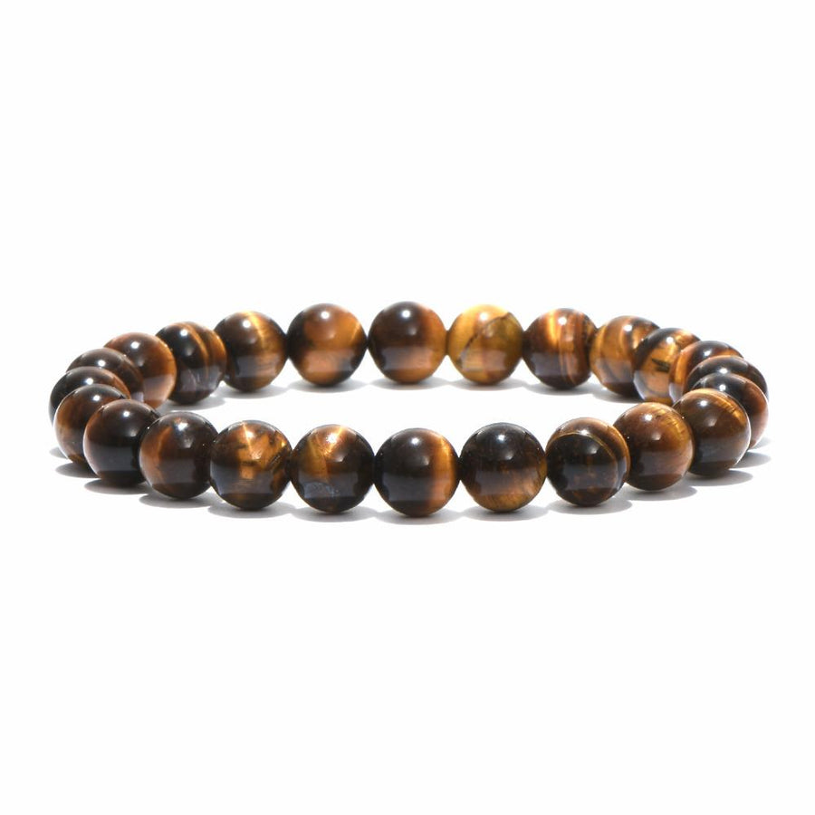 Natural Stone Tiger Eyes Bracelet
