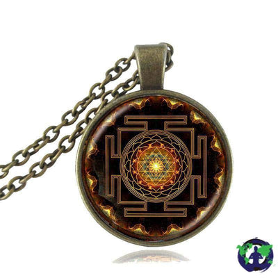 Jewelry - Sacred Sri Yantra Necklace