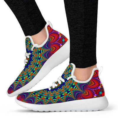 Kaleidoscope Mesh Knit Sneakers