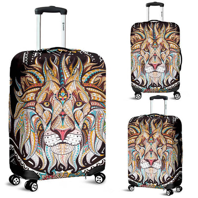 MANDALA WOLF LUGGAGE COVER