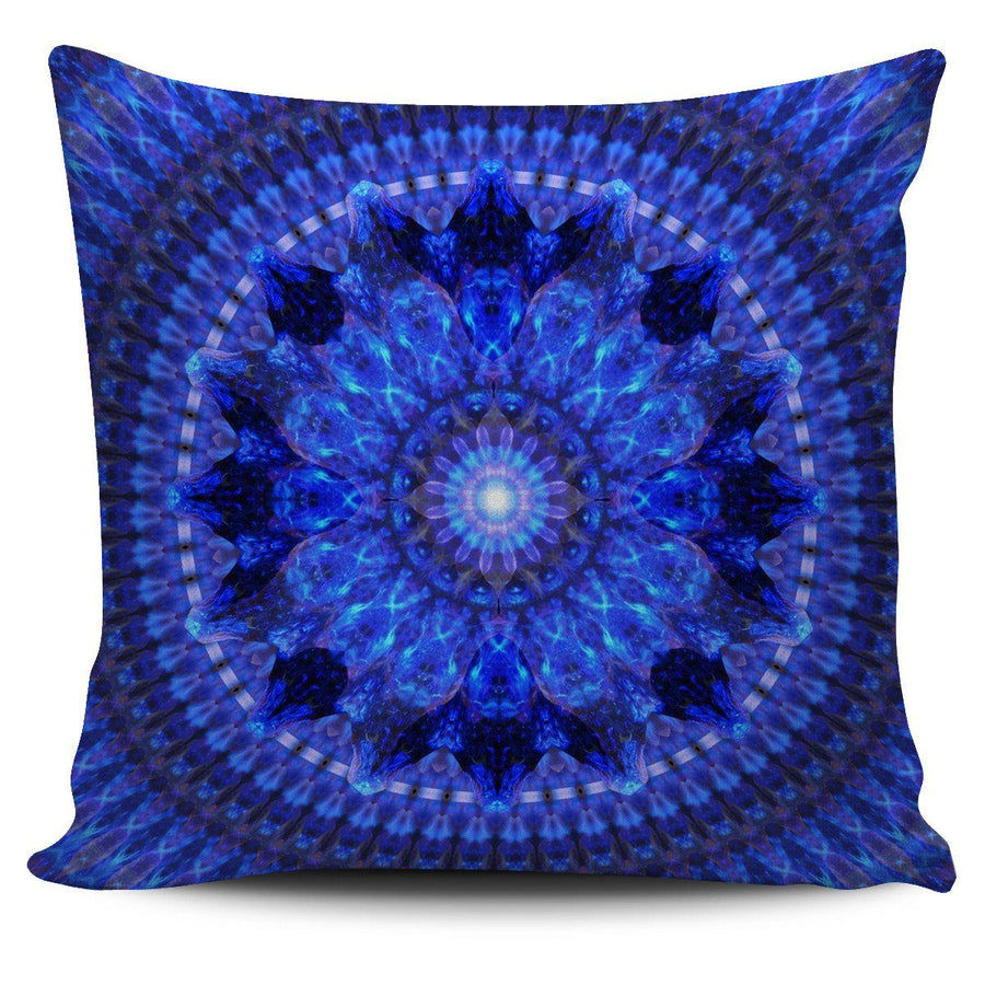 Pillow Cover - Azure Shield Pillow Cover