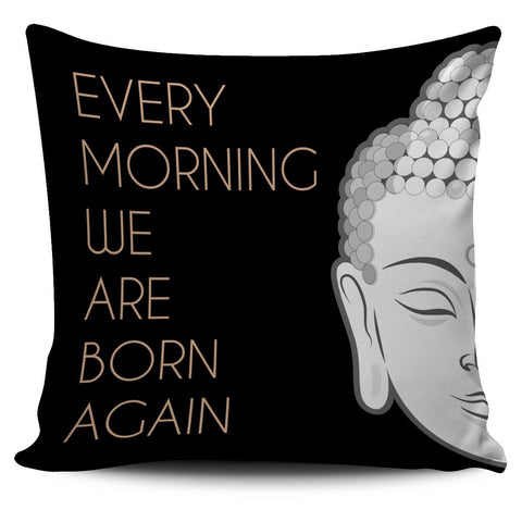 Image of Pillow Cover - Buddha Pillow Cover