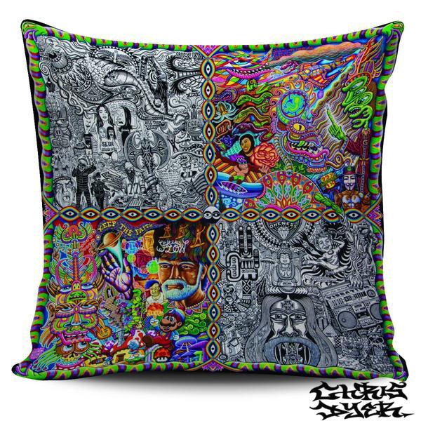 Pillow Cover - CHAOS CULTURE JAM