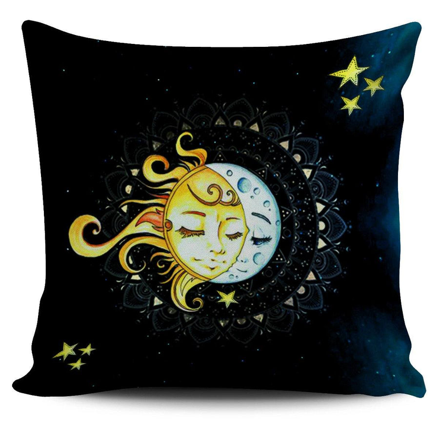 Pillow Cover - Moon & Sun Pillow Case
