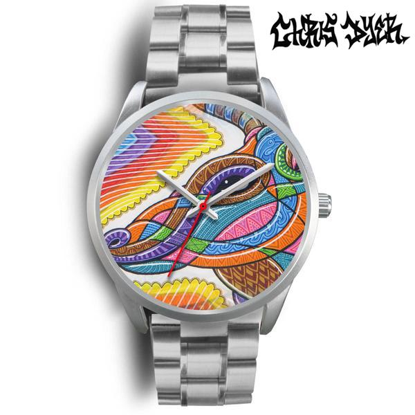 Silver Watch - Clear Deer