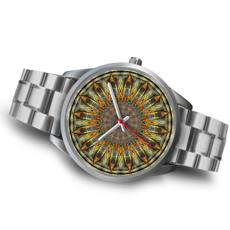 Silver Watch - Hawaiian