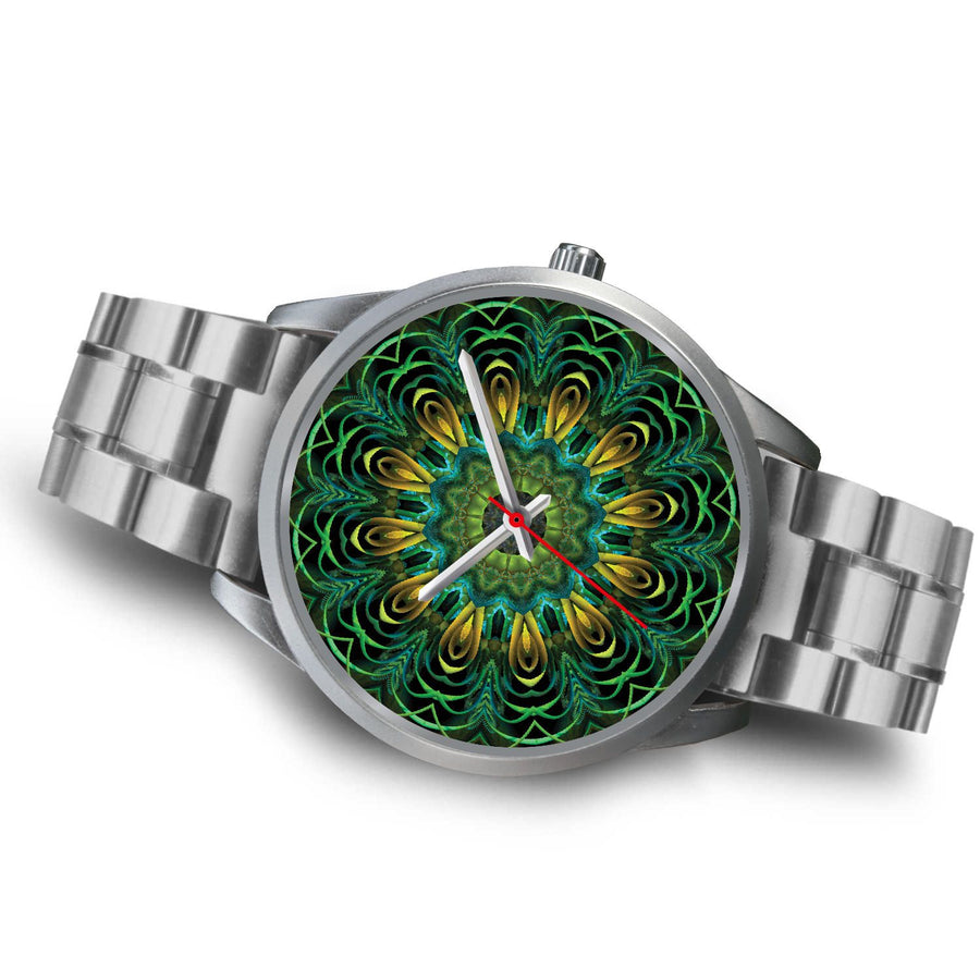 Silver Watch - Imperial Jade