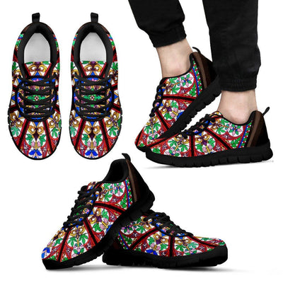 Sneakers - Flower Mandala Sneakers