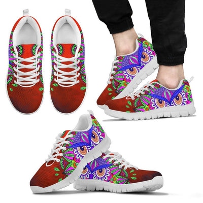 Sneakers - Ornamental Owl Sneakers