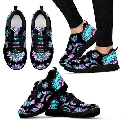 Sneakers - PEACOCK FEATHER SNEAKERS