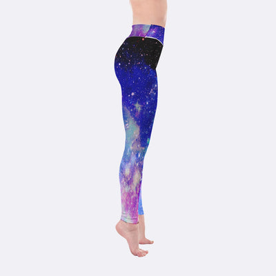Yoga Leggings - Galaxy Yoga Leggings