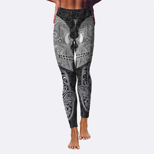 Ornamental Skull Leggings