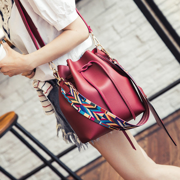 Julia Kays™ TRIBAL DRAWSTRING Crossbody bag