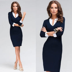 Julia Kays™ Slim Work Office Dress