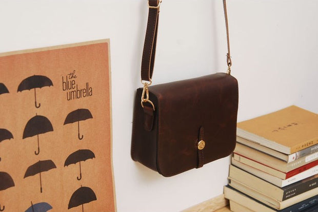 Julia Kays™ LUNA Vintage Messenger Bag