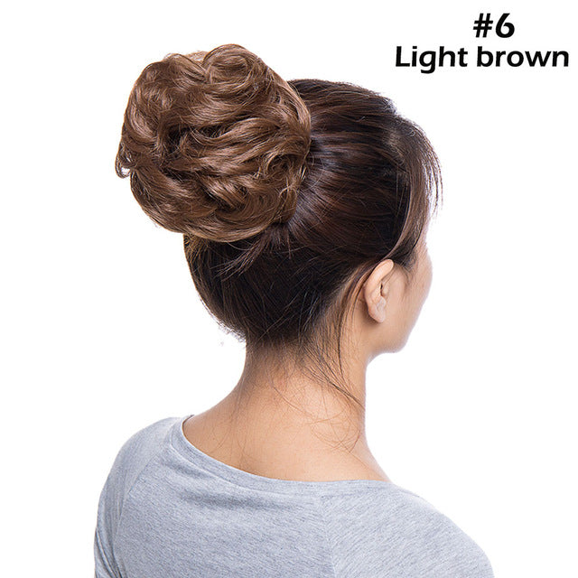 Elegant Updo Hair Bun Hairpiece