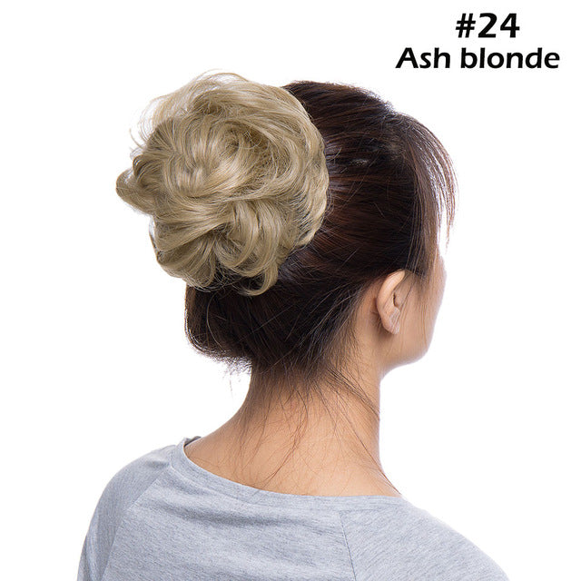 Scrunchies Bun Hair Updo