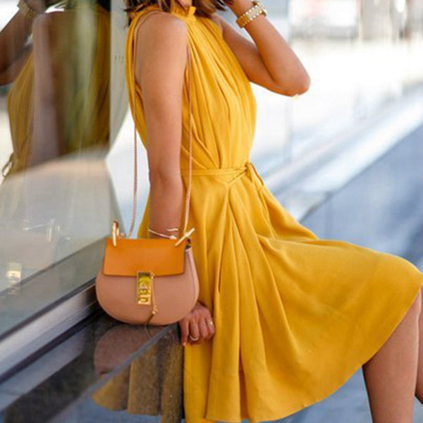 Julia Kays™ MARY Vintage Yellow Dress