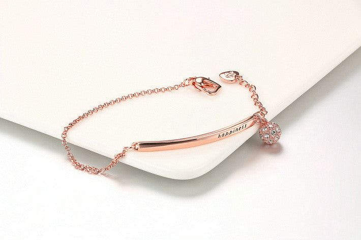 Julia Kays™ Happiness Rose Gold Bracelet