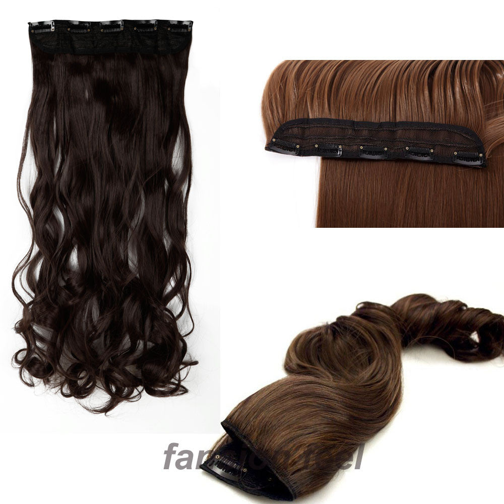 "Julia Kays™ Natural Curls Hair Extension - One Piece 18""-28"""