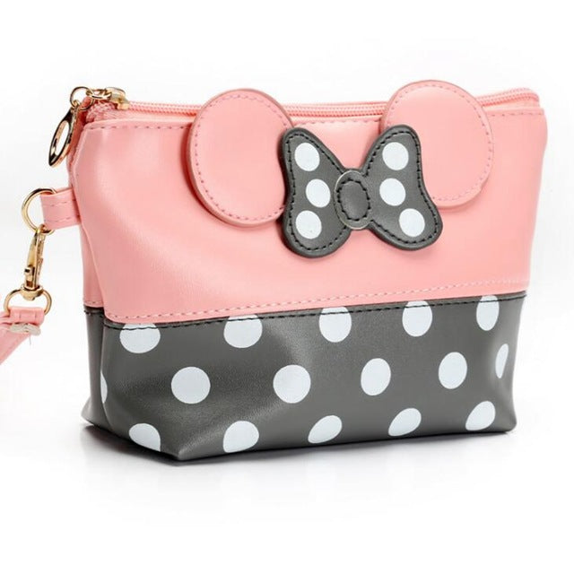 Julia Kays™ Polka Dot Travel Cosmetic Bag
