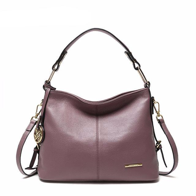 Julia Kays™ CLOVER Classic Leather Tote