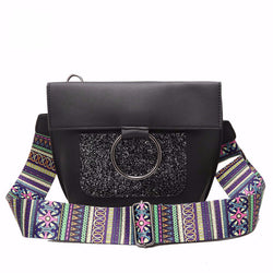 Julia Kays™ MORTIS Strap Messenger Bag