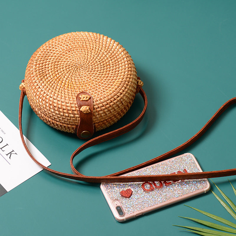 Julia Kays™ SUMMER Straw Bag
