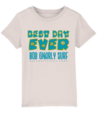 Kids Best Day Ever Design T-Shirt-Bob Gnarly Surf