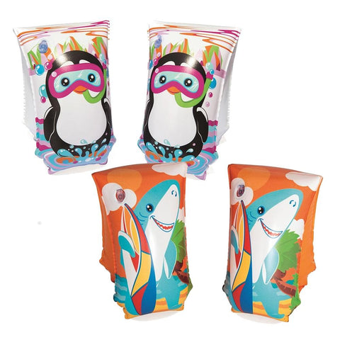 "12"" x 6"" Aquatic Life Armbands-Bob Gnarly Surf"