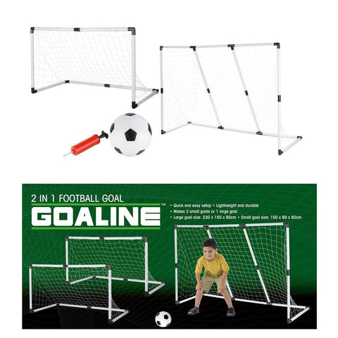 2 in 1 Football Goal Set-Bob Gnarly Surf