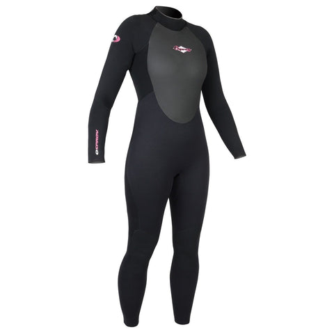 Omnitron 3mm Wetsuit Womens Ladies Super Flex Surf Summer Deluxe Wet Suit-Bob Gnarly Surf