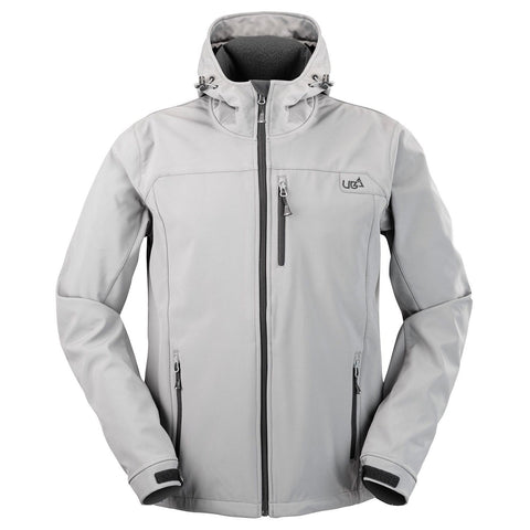 Salween Grey Softshell Jacket Ski Snow Waterproof Breathable