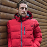 Tocan F1 Red Ski Snowboard Winter Puffa Jacket Waterproof Breathable