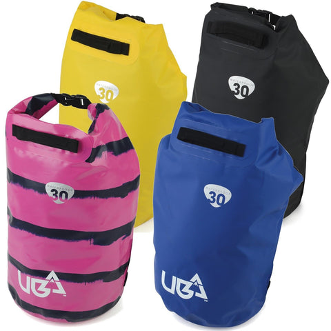 Waterproof 30 Litre Ltr L Dry Tube Bag Pack Dive Sail Scuba Surf-Bob Gnarly Surf