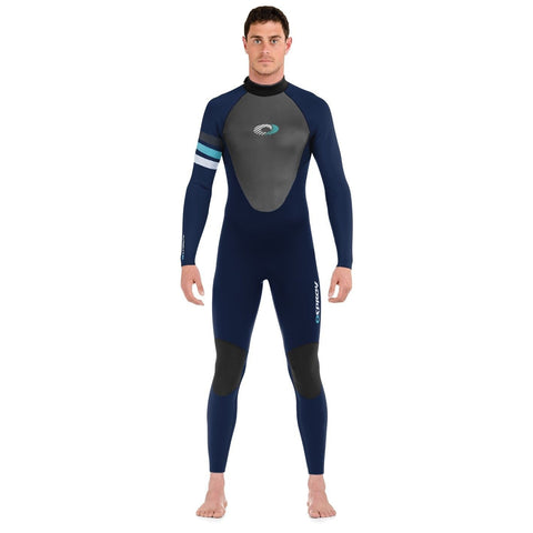 Omega Mens 3mm Wetsuit Adult Super Flex Surf Summer Deluxe Wet Suit-Bob Gnarly Surf