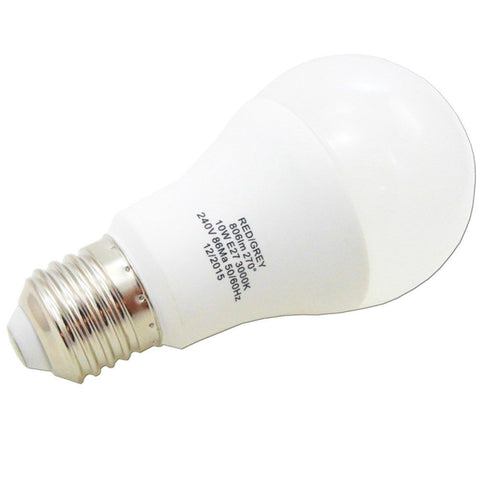 Led Bulb Gls 10w 806 Lumens Non Dimmable E27 Screw Warm White 60w Equivalent