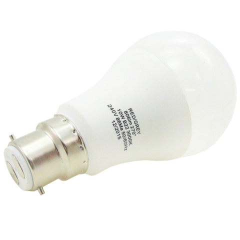 Led Bulb Gls 10w 806 Lumens Non Dimmable B22 Bayonet Warm White 60w Equivalent