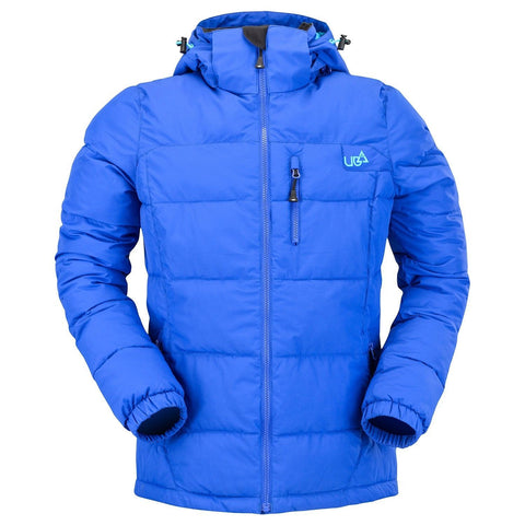 Womens Blue Ski Snowboard Puffa Jacket Waterproof Breathable 5k