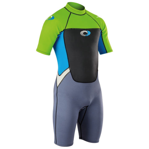Origin Mens 3/2mm Shorty Wetsuit-Bob Gnarly Surf