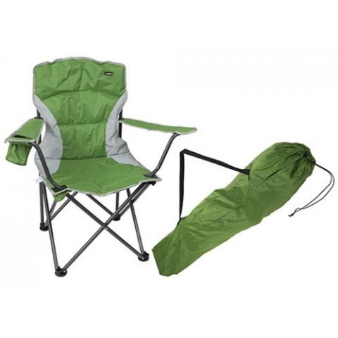 Malvern Relaxer Chair Folding Carry Bag Camping Caravan Garden Festival