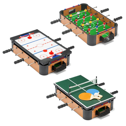 3 in 1 Mini Table Top Games Table-Bob Gnarly Surf