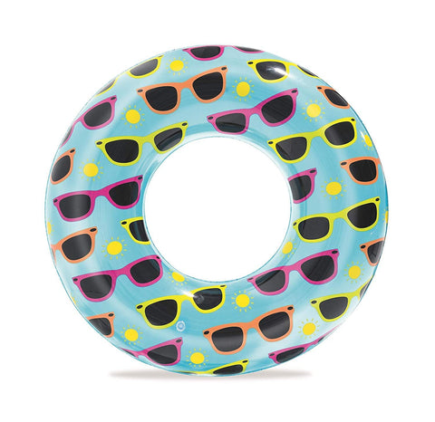 "30"" Designer Swim Ring-Bob Gnarly Surf"