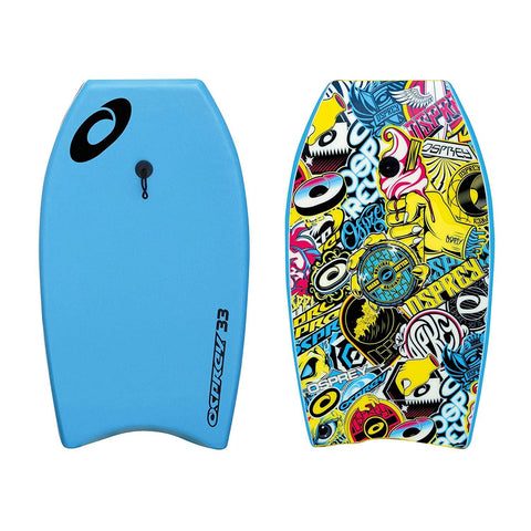"33"" XPE Stickers Blue Bodyboard-Bob Gnarly Surf"