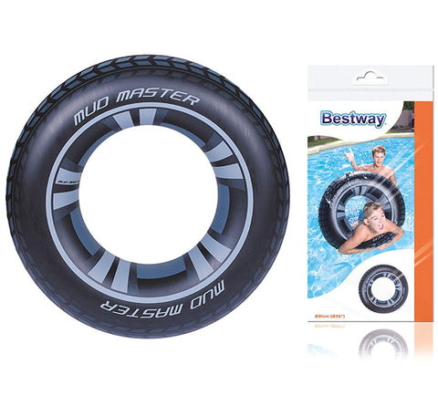 "36"" Mud Master Swim Ring-Bob Gnarly Surf"